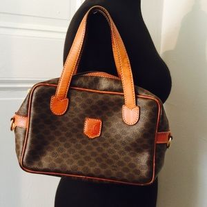 celine bag on sale - 95% off Celine Handbags - Authentic 1960's C��line of Paris vanity ...