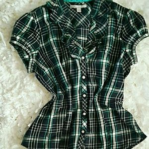 Old Navy Tops - Perfect plaid