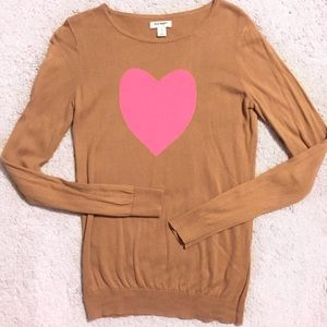 ❗️FINAL PRICE❗️Old Navy Heart Intarsia Sweater