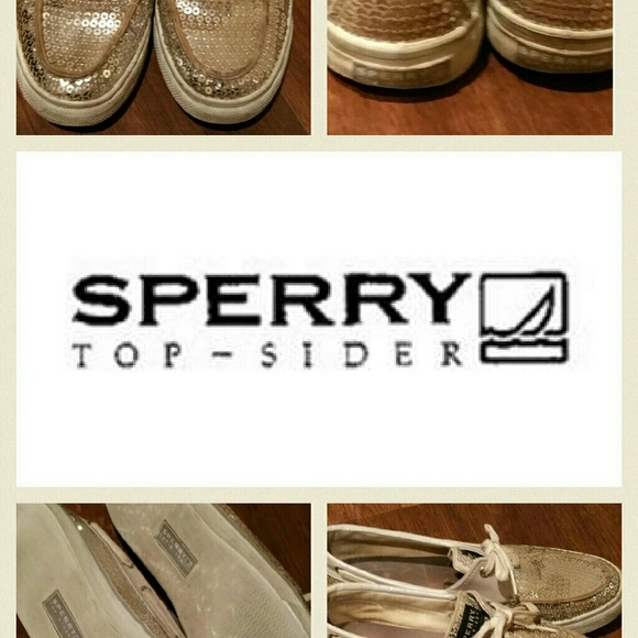 Sperry Shoes - Sperry Sequin Top Sider Size 9