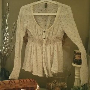 Just reduced Free People XS long sleeve shirt