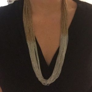 Jewelry - Gold and silver chain necklace