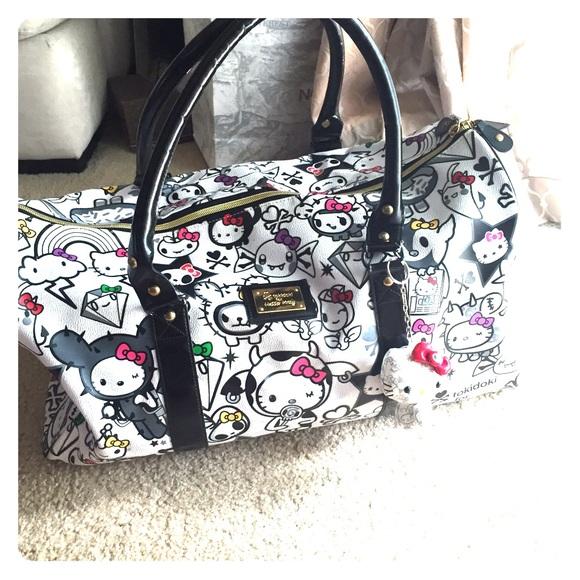 323a22119 Hello Kitty Handbags - Hello Kitty X Tokidoki duffle bag