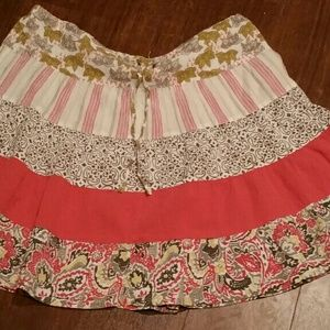 Columbia drawstring skirt