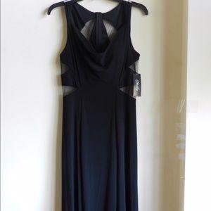 Black Cutout Prom Dress!