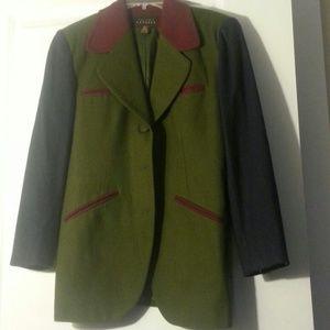 Express Multi Colored Blazer