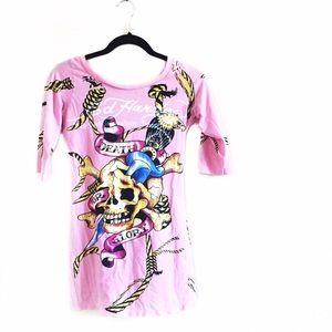 Ed Hardy Dresses & Skirts - • Ed Hardy • Pink Dress
