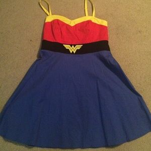 torrid Dresses & Skirts - Torrid Wonder Woman Skater Dress- Size 18
