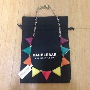 BaubleBar Rainbow Triad Necklace