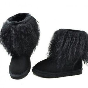 UGG Shoes - Ugg australia mongolian sheepskin cuff boots EUC 9