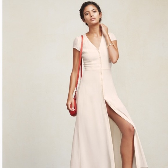 a9f1d4a752b Reformation Naveen button maxi dress. M 56ad895f6ba9e6d61500750b