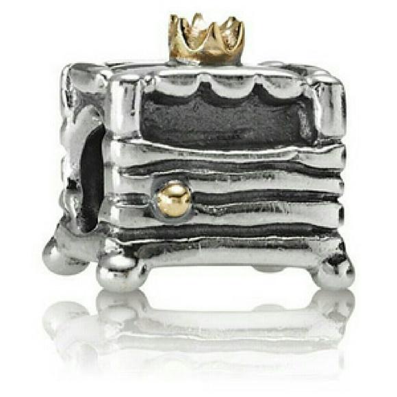 Jewelry - Pandora retired princess and the pea charm RARE