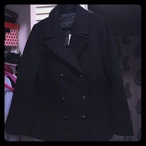 Brand new BR wool coat