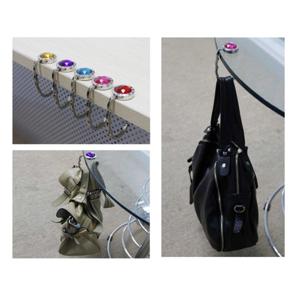 50 accessories high quality purse hanger from