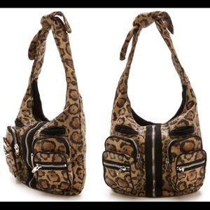 New!!  Alexander wang Donna hobo leopard bag.