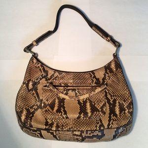 fb28bb39df39 Prada Bags | Python Snakeskin Hobo Bag | Poshmark