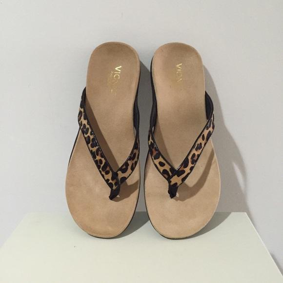 21d3d36171f6 Vionic Selena Tan Leopard Sandal. M_56ae1ca3713fde191800106a