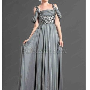 Dresses & Skirts - Silver Sequin Evening Gown