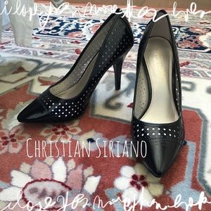 Christian Siriano Shoes - 🆕 Black Patent Leather Pumps