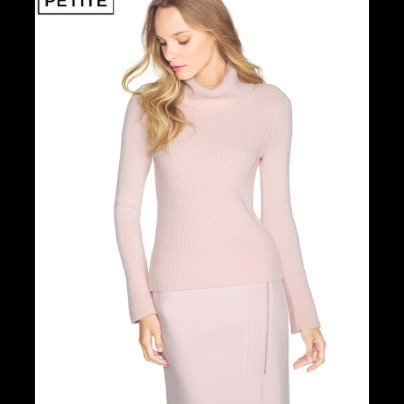 59% off White House Black Market Sweaters - WHBM soft pink ...