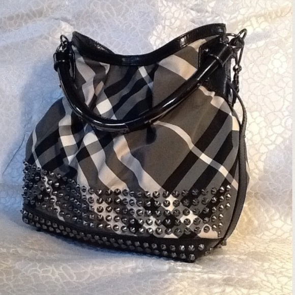 d84b59bb0e0 Burberry Bags   Limited Edition Studded Hobo Bag   Poshmark