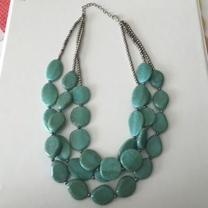 Three later statement necklace!