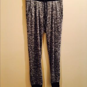 Pants - HEATHER GRAY JOGGERS