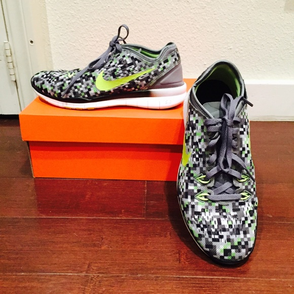 Nike Shoes Nwob Free 50 Tr Fit Print Sz 6 Womens Poshmark