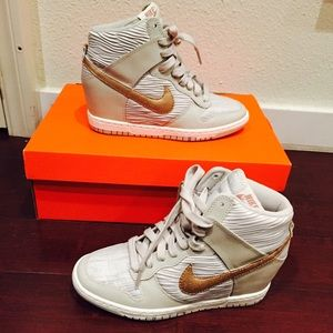 a3d5b7d433d1 Nike Shoes - NWOB Nike Dunk Sky Hi wedge sneaker women s sz 6.5