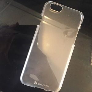 Stack social clear iPhone 6 cover