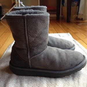 Classic Gray Ugg Boots