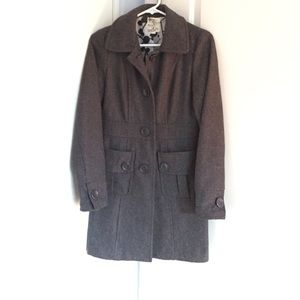 Tulle Jackets & Blazers - Gray wool peacoat