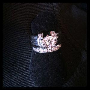 Jewelry - 💍💍💍WEDDING SET 🚫trade 🚫PayPal posh compliant