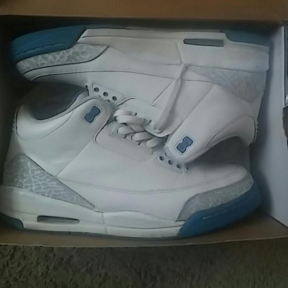 Jordan Shoes   Harbor Blue 3s   Poshmark