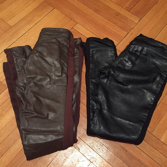 H&M Pants - BUNDLE- Leather Skinny Pants/ leggings
