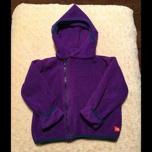 Warm girl jacket
