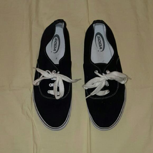 soda black soda tennis shoes from ondi s closet on poshmark