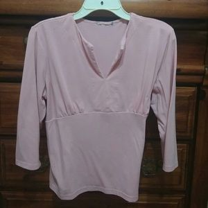 Soft Pink Stretchy Top $8 sz XL