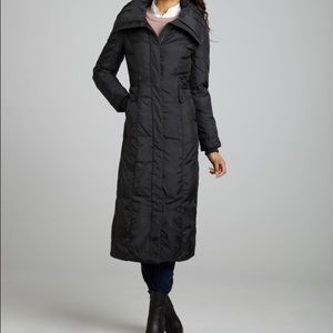 COLE HAAN Down Coat, Black, Medium