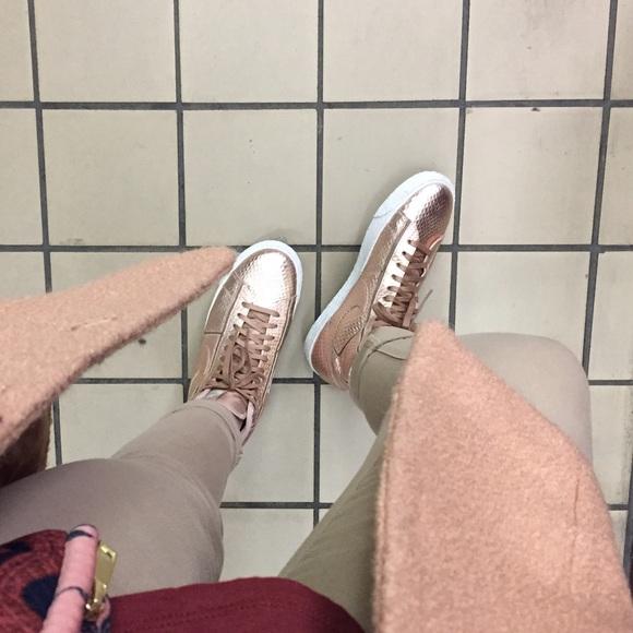 brand new 070de 6367f Nike Rose Gold Blazer Sneaker. M56ae8b157fab3ab45400506f