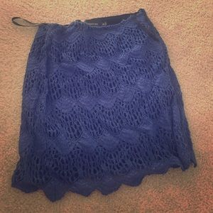 Mink Pink Moscato Lace Skirt
