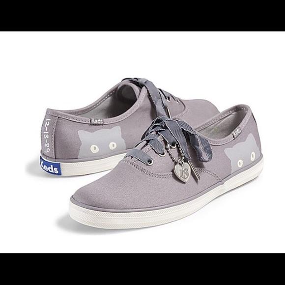 e2665c1dd95 NEW Taylor Swift Keds Champion Sneaky Cat Sneakers.  M 56ae9171b4188e5ff500558e