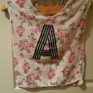 Bershka Au revoir Paris shirt