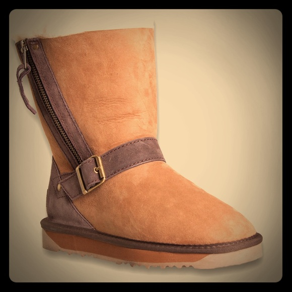 womens ugg boots with buckle
