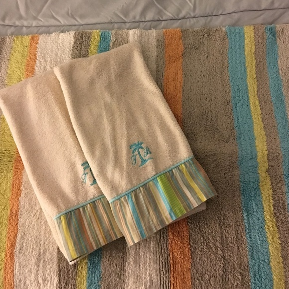 Tommy Bahama Other Bath Mat And Hand Towels Poshmark