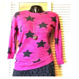 Planet Gold Sweaters - Asymmetrical Star Sweater