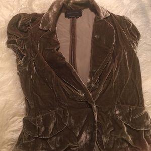 BCBG Maxazria velvet jacket