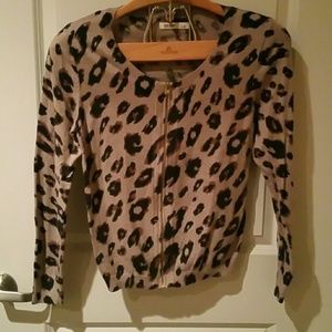 Old Navy sweater animal print