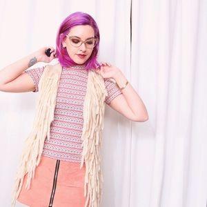 Jackets & Blazers - 💙SALE❤️ Knit Fringe Vest
