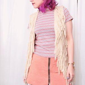 Jackets & Coats - 💙SALE❤️ Knit Fringe Vest